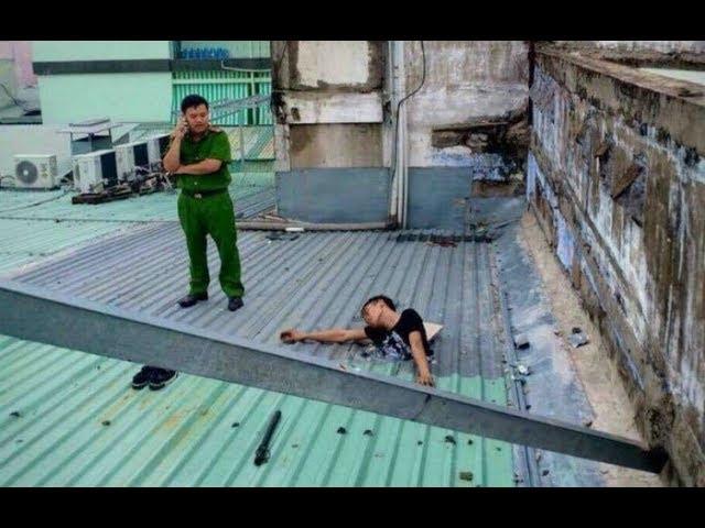 Chuyện hi hữu nam thanh niên bị mắc kẹt khi tr/ộ/m ở Sài Gòn