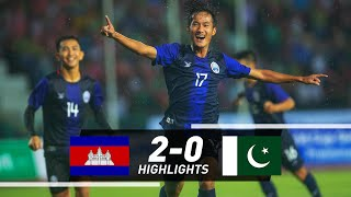 Cambodia Vs Pakistan Fifa World Cup Qatar 2022 & Asian Cup 2023 Qualifiers