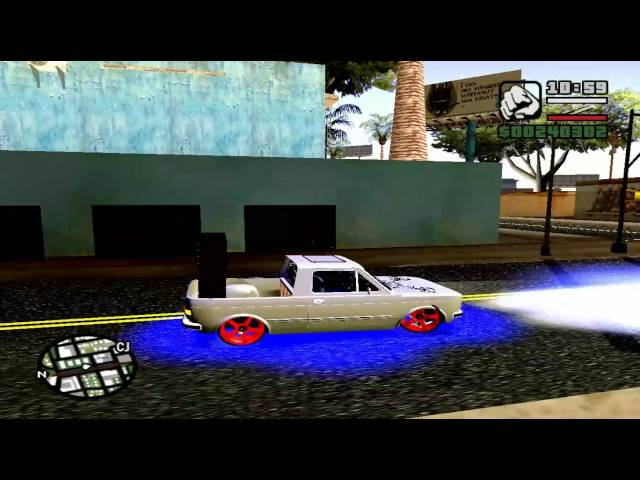 Mc Taz deixa rolar - Rolezim no GTA SA TRAVEL_VIDEO