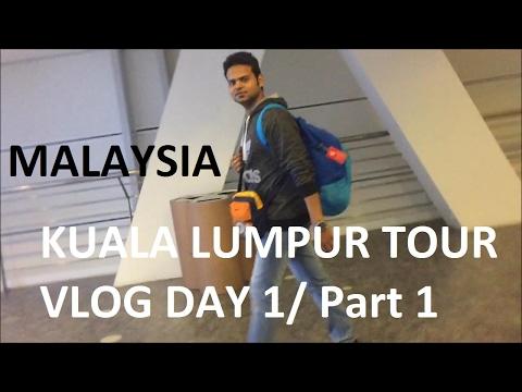 PART 1 Malaysia Tour VIA Lucknow-NewDelhi-Kuala Lumpur !Shivendra Jha VLOG!  Hindi Indian