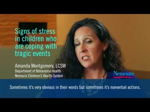 Identifying signs of stress in children