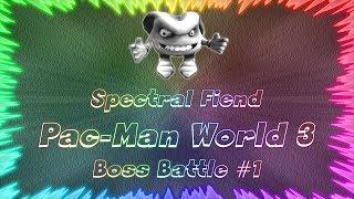 Pac-Man World 3 ★ Perfect Boss Battle #1 • Spectral Fiend