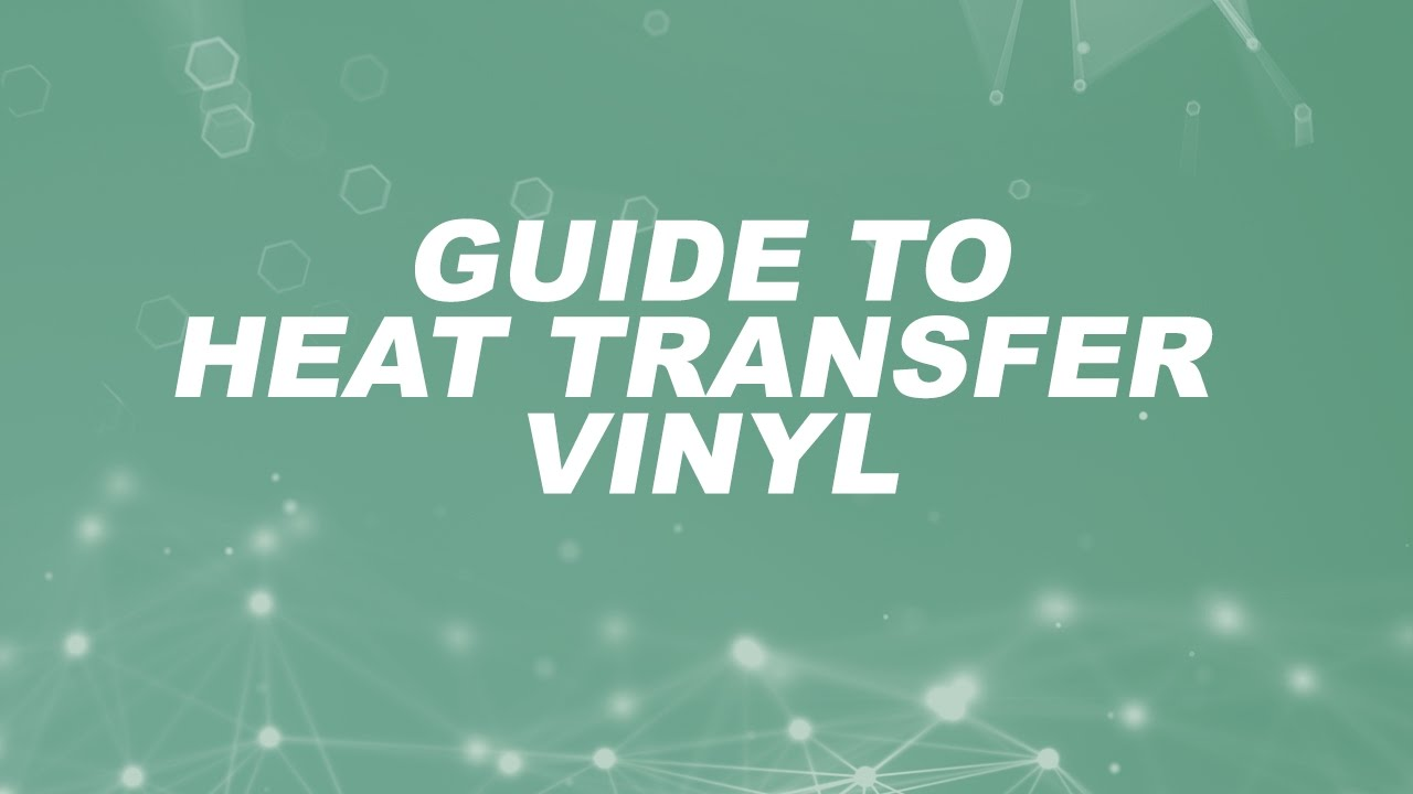 Guide To Heat Transfer Vinyl Heatpressnation Com Doovi