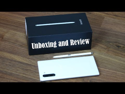 Smaller Galaxy Note 10 Unboxing Setup and Review WHITE COLOR