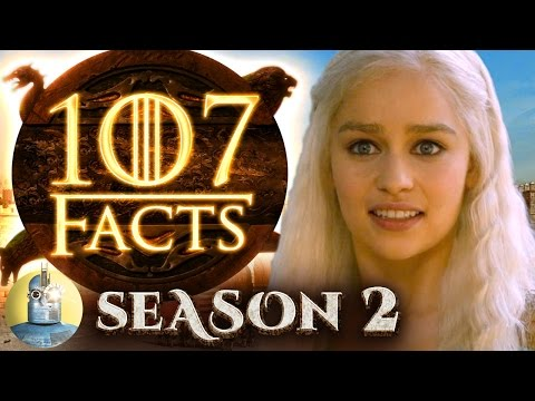 107 Game of Thrones Season 2 Facts YOU Should Know @Cinematica
