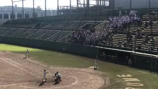 2017福岡県高校野球秋季南部大会 対沖学園.