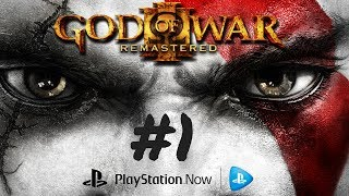 KRATOS IS BACK ! Playing on PC { PS NOW }