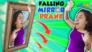 MIRROR Joke! Mike Jokes Strangers Again @ Redbox & Pokemon 2 FUNnel Family Haha