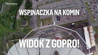 Alpinista wspina się na komin - widok z GoPro! | Zawodowcy - środa 22:00 | Discovery Channel