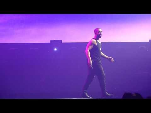 Drake -  Work / Too Good live @ Summer Sixteen Tour, SAP Center, San Jose, CA