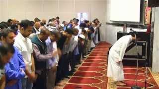Shalat Maghrib with Interfaith Observers