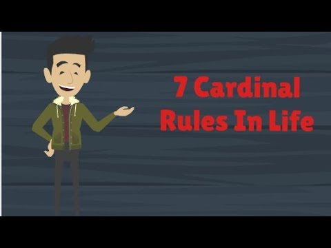 7 Cardinal Rules Of Life We All Should Know | Cardinal Rules For Life | SELFHELP Doc