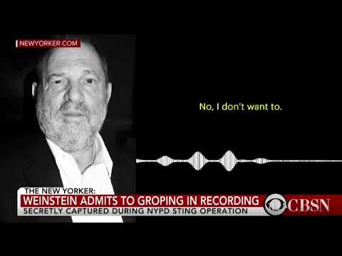 LISTEN: Recording of Harvey Weinstein Making Unwanted Sexual Advances in 2015