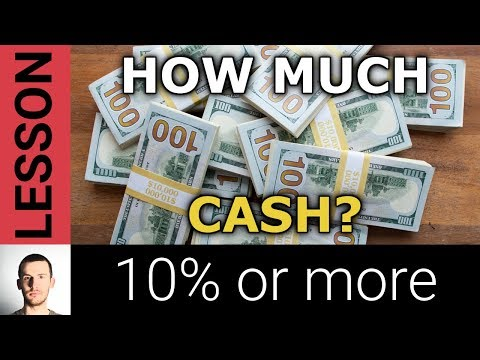 Stock Market Crash Protection: How Much Cash Should You Have?