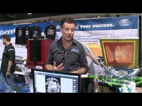 Live Demo of Separation Studio Screen Printing Software