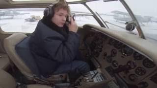 Учебный полет Як-18т курсант Ваня. Боровая Сургут.
