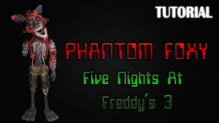 - Tutorial Phantom Foxy en Plastilina FNaF 3 Phantom Foxy Clay Tutorial
