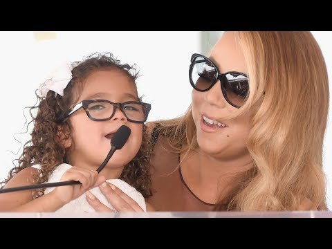 This clip of Mariah singing a duet with her daughter is cuteness overload. 😍