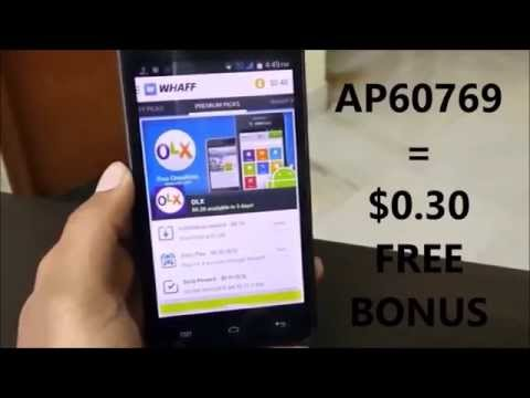 How to Make FREE REAL MONEY with PROOF|PayPal Whaff Rewards
