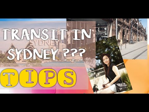 TRANSIT IN SYDNEY AIRPORT?? | WHAT TO DO? | TIPS