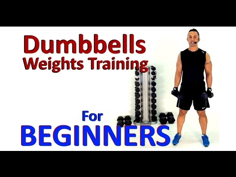 weights training for beginners  dumbbell exercises