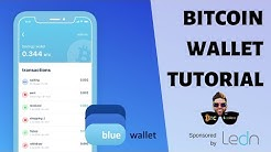 How To Get A Bitcoin Wallet: Blue Wallet for iPhone and Android