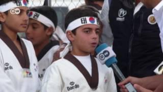 طفل سوري من مخيم الزعتري: