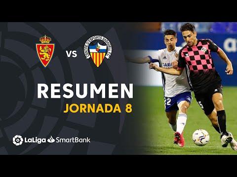 Zaragoza Sabadell CE Goals And Highlights