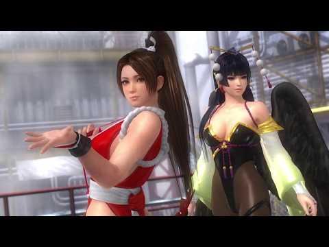 Dead or Alive 5 Last Round PS4 Nyotengu Mai Tag Playthrough 15/07/18