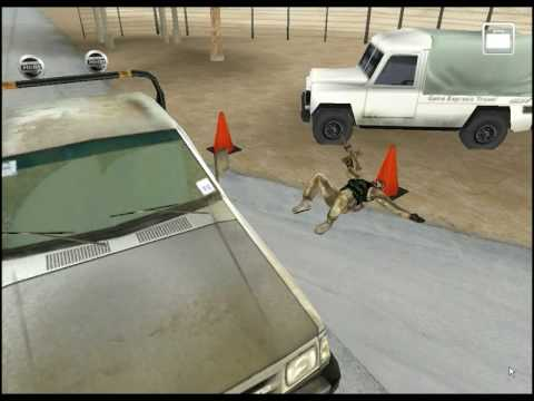 Vehcile Checkpoint Game by Caspian Learning