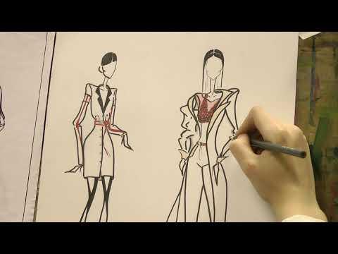 Курсы дизайна одежды спб. Основы рисунка модели одежды