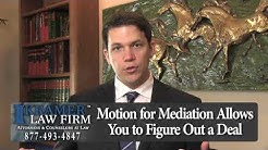 Orlando Foreclosure Attorney - How Does Mediation Work in a Florida Foreclosure Case?