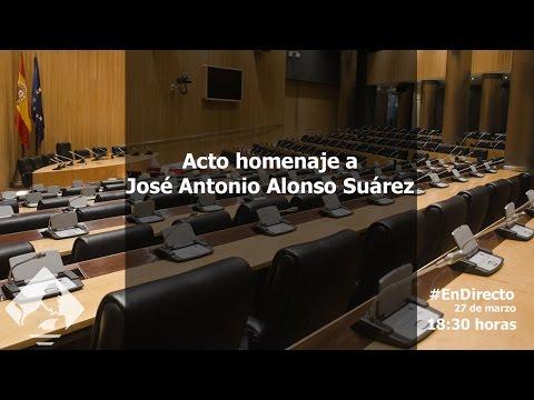 Acto homenaje a José Antonio Alonso Suárez (27/03/2017)