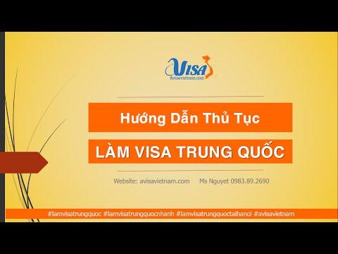 Hướng Dẫn Làm Visa Trung Quốc Tại Hà Nội - Thủ Tục Làm Visa Trung Quốc 2016