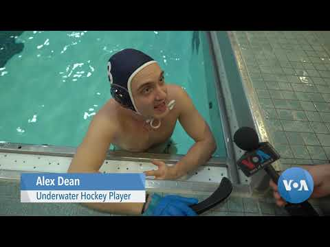 Puck, Goal, Sticks And A Snorkel: Underwater Hockey Stages A Comeback