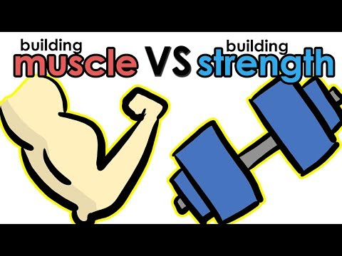 Building Muscle Vs Building Strength - What's the Difference?