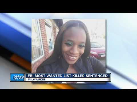 FBI most wanted list killer sentenced to 40 years
