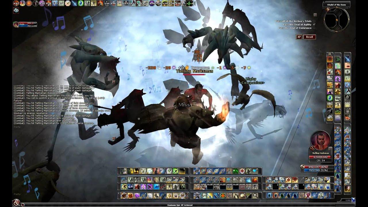 DDO - The Archon's Trial - Epic Elite - Solo Bard - U28 1 2