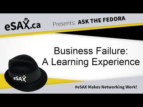 Business Failure Is A Learning Experience
