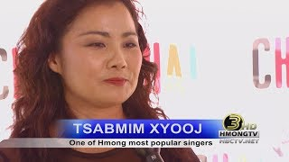 3 HMONG NEWS: Interview with Tsabmim Xyooj, one of Hmong most popular singers.