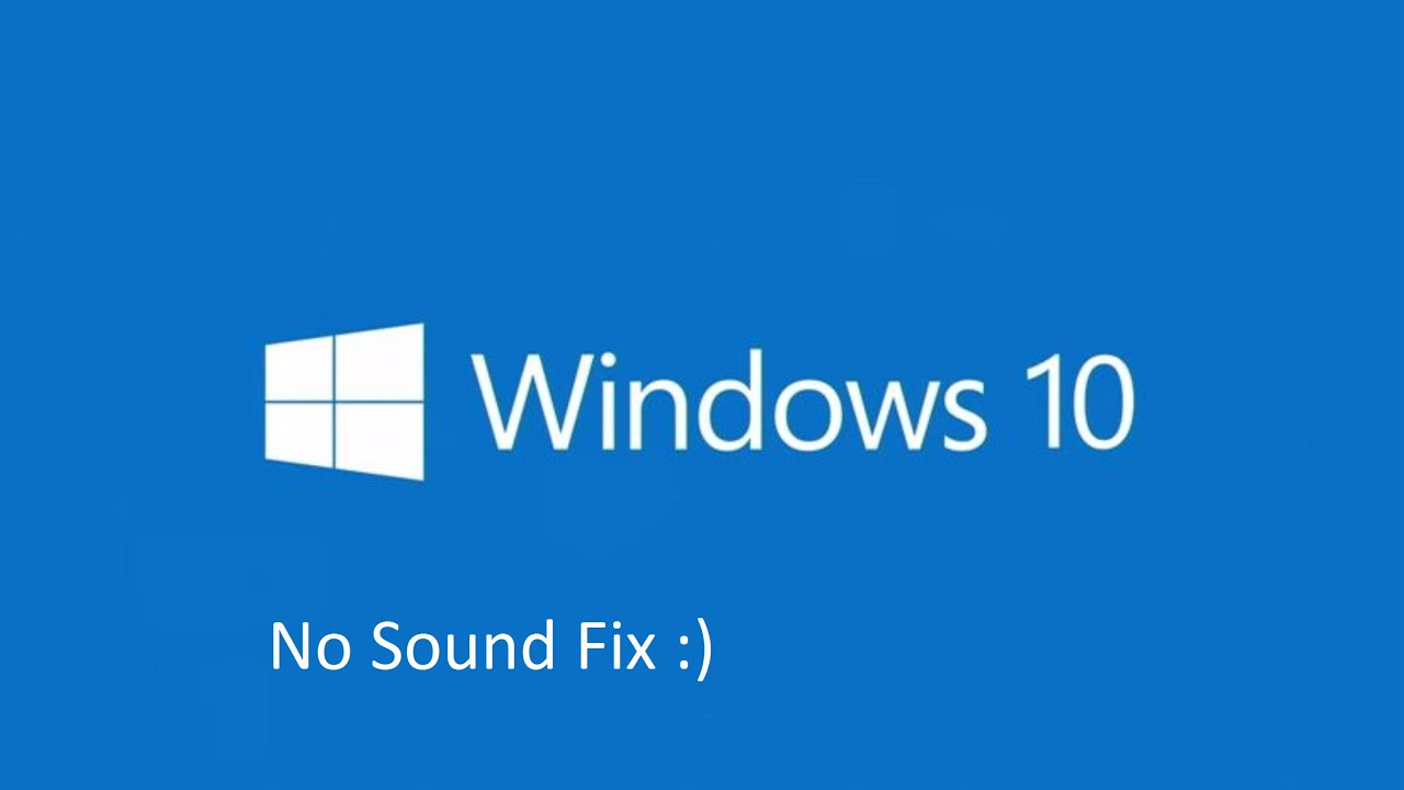 no audio from internet windows 7
