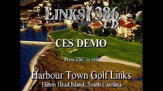 Links 386 CD - C.E.S. Loop Demo. 1995.