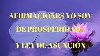 Afirmaciones Yo Soy De Prosperidad Con La Ley De La Asunción - Decretos Yo Soy