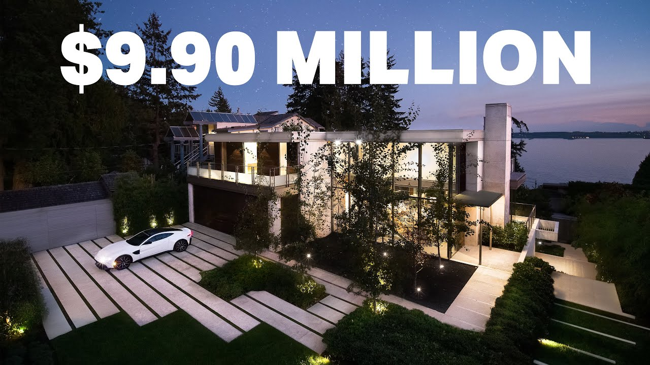 Luxury Property Highlight Video / Inside this Architectural home in West Vancouver