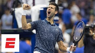 2018 US Open highlights: Novak Djokovic defeats Kei Nishikori in straight sets | ESPN