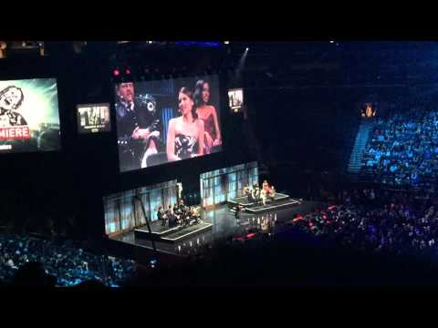 The Walking Dead premiere sixth season Entrance at Madison Square Garden COMPLETE / FULL