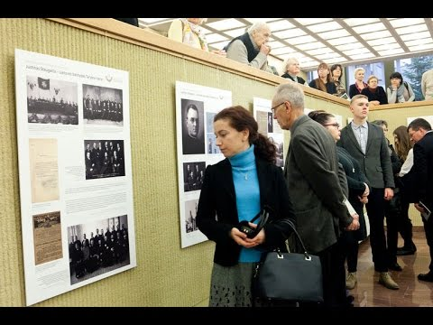 Seimas minėjo Seimo Pirmininko Justino Staugaičio  150-ąsias gimimo metines