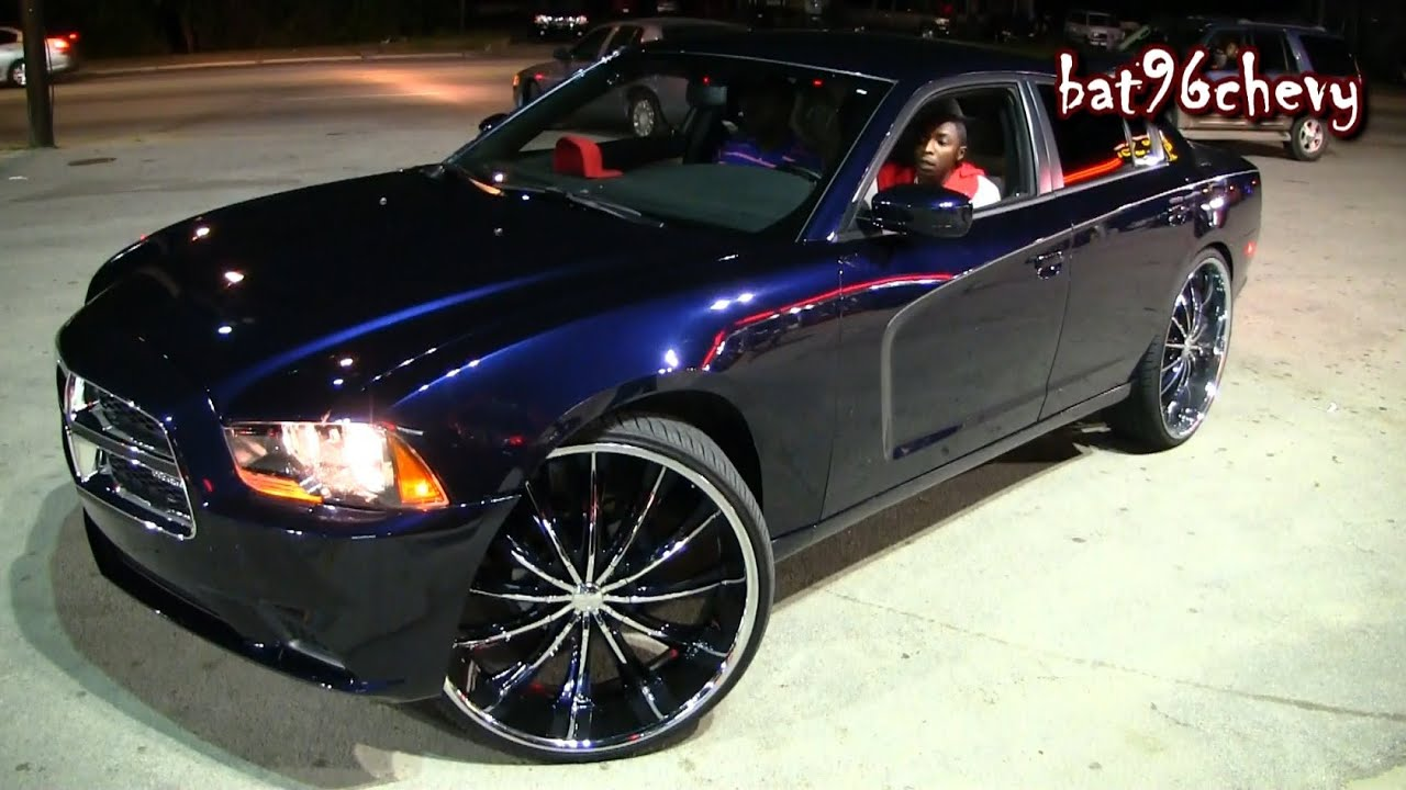2012 dodge charger lifted on 28s 1080p hd youtube - Dodge Charger 2014 Dark Blue