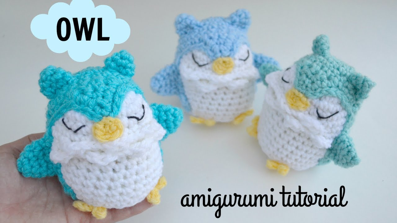 Owl Amigurumi Tutorial   Free Crochet Pattern   Ami Amour