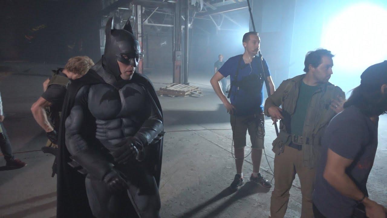 Epic Batman Fight Scene - Behind The Scenes - YouTube